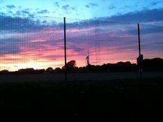Portsmouth at dusk. No filter