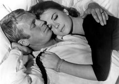 Steve McQueen and Natalie Wood in Love With The Proper Stranger.