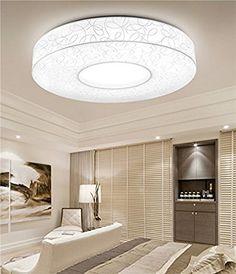 Style Home LED Deckenlampe Wandlampe Badleuchte 4 Farben Warm Kalt  Neutral Weiss Und Nachtmodul 6288