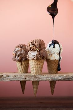 We're inclined to think that it's never too cold for ice cream.