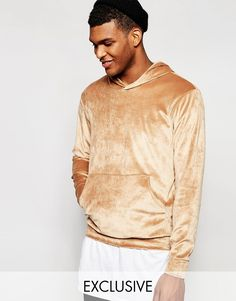 Shop Reclaimed Vintage Velour Hoodie at ASOS. Mens Velour Tracksuit, Nudes, Cool Shirts, Fashion Online, Going Out, Asos, Men Sweater, Mens Fashion, Hoodies