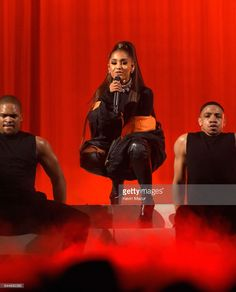 Ariana Grande performs onstage during her 'Dangerous Woman' tour at Madison Square Garden on February 23, 2017 in New York City.