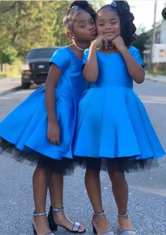 Blue eyes blues dress why not 🤷🏽♀️🥶 Dinner date with the dolls 🥰🥰🥰🥶🥶🥶 These dresses are oh so beautiful and perfect on… Couples African Outfits, African Dresses For Kids, Latest African Fashion Dresses, Dresses Kids Girl, Girls Party Dress, Kids Outfits, Cute Kids Fashion, Girl Fashion, African Bridal Dress