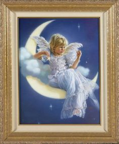 Baby angel on the moon Neverland Ranch, Michael Jackson Wallpaper, Art Students League, Oeuvre D'art, Beauty And The Beast, Les Oeuvres, Fantasy Art, Art Gallery, Disney Characters
