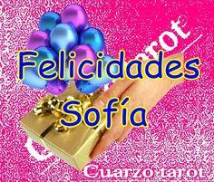 FELICIDADES SOFÍA!!!!    #FelizJueves #FelizDía #FelicidadesSofía   https://www.cuarzotarot.es/