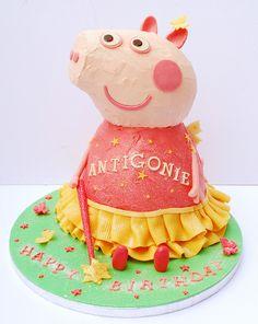 Peppa Pig Cake by Love to Cake