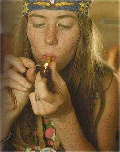 1967-wonder what she's smoking? Hum................Wonder where her brownies are?