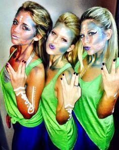 1000+ ideas about Alien Costumes on Pinterest | Alien Halloween ...                                                                                                                                                      More