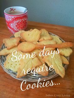 Cookies Quote - Jalien Cozy Living Christmas Recipes, Christmas Ideas, Christmas Gifts, Cookie Quotes, Baking Quotes, Painted Plates, Cookie Time, Plate Design, Cozy Living