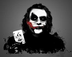 Batmans Joker, Tinted Style   http://www.yourpainting.de/motive-artikel/the-joker