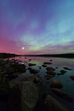 Aurora over Pinawa, Manitoba