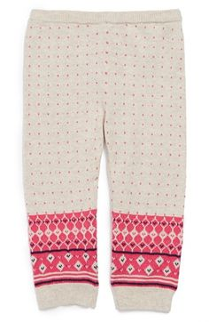 Nordstrom Baby Fair Isle Leggings (Baby Girls) available at #Nordstrom