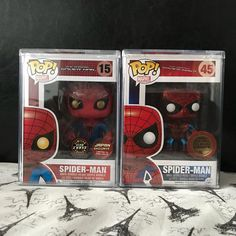 Pop twin Tuesday? Ohhhhh man. . Still need three more to complete my Spider-Man collection . #funko #funkopop #funkofam #funkolove