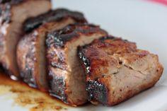Momma Hens Kitchen: Honey Butter Pork Tenderloin