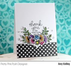 Welcome to the May Release Blog Hop for Pretty Pink Posh! The new products were released May 1st and are just fantastic! Some of my favorites to date! (because now I have some PPP florals to play w