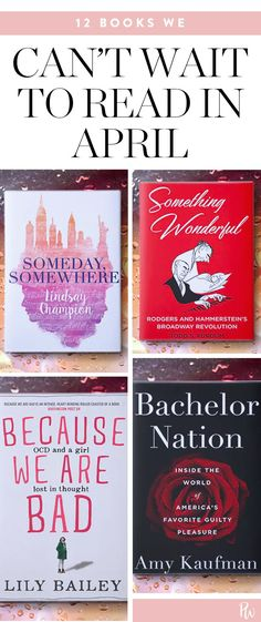 12 Books We Can't Wait to Read in April #purewow #fiction #nonfiction #books