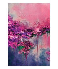 Look at this #zulilyfind! When Land Met Sky V Gallery Wrapped Canvas #zulilyfinds