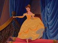 Belle Ballgown, Belle Dress, Beauty And The Beast Costume, Disney Beauty And The Beast, All The Princesses, Disney Princesses, Belle And Beast, Yellow Gown, Princess Outfits