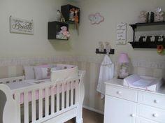 Jungle nursery decor for girls