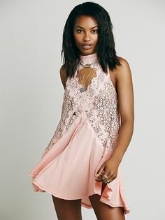 FP Collection Cross My Heart in Lace Tunic at Free People Clothing Boutique