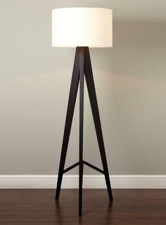 Wooden Tripod Floor Lamp - floor lamps - lighting - For The Home - BHS