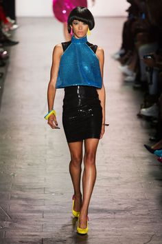 Jeremy Scott New York Spring/Summer 2017 Ready-To-Wear Collection | #NYFW