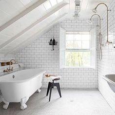 Besonderheiten Der Badgestaltung Für Kleines Bad Im Dachgeschoss    Pinterest   Badgestaltung, Dachgeschosse Und Kleine Bäder