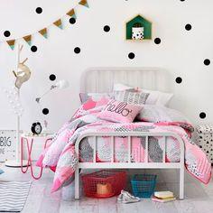 Adairs Kids Ella - Bedroom Quilt Covers & Coverlets - Adairs Kids online