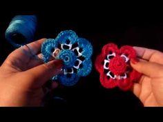 Flor tejida de anillas o chapitas para bolsa, broche o cinturón - YouTube Pop Tabs, Crochet Earrings, Projects To Try, Birthdays, Lily, Flowers, Crafts, Beautiful, Jewelry