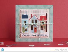 Silhouette America Blog | Triangle-fold Winter Card
