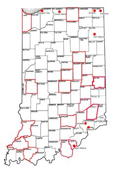 Information on the underground railroad locations in Indiana.  Información sobre la ubicación del tren subterráneo en Indiana.