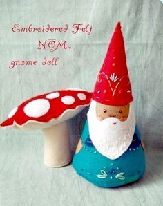Gnome Doll Waldorf Toy Woodland Theme Plush Natural by sewfaithful, $29.00  #Etsy #Gnome #Plush #Kawaii #Handmade