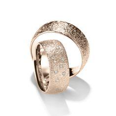 Henrich + Denzel - Circuli - Trauringe - 750 Roségold - Diamanten +++ Henrich + Denzel - Wedding Rings - 18k Rose Gold - Diamonds