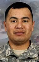 Army Sgt. Israel Garcia  Died July 13, 2008 Serving During Operation Enduring Freedom  24, of Long Beach, Calif.; assigned to the 2nd Battalion, 503rd Infantry Regiment (Airborne), 173rd Airborne Brigade Combat Team, Vicenza, Italy; died July 13 of wounds sustained when his outpost was attacked by small-arms fire and rocket-propelled grenades from enemy forces in Wanat, Afghanistan.