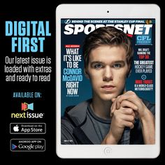 SN COVER MCDAVID #CMCDavid97 #PEPHockey Pro Hockey, Hockey Games, Hockey Players, Connor Mcdavid, Hockey Training, Stanley Cup Finals, Mike Trout, Edmonton Oilers, Nhl