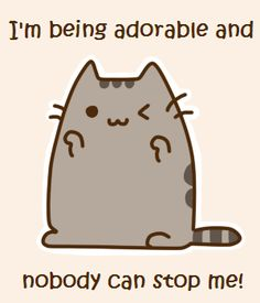 I can hear your tone Pusheen Little Kittens, Cats And Kittens, Pusheen Cute, Pusheen Stuff, Cute Anime Cat, Neko, Grey Tabby Cats, Image Chat, Nyan Cat
