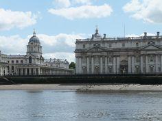 Ankunft in Greenwich - London
