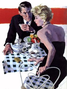Tea for Two ~ ca. 1950s