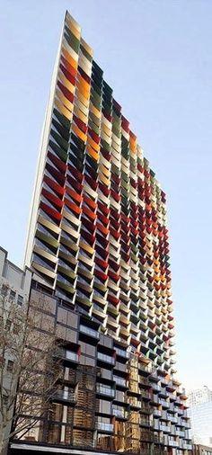 A'Beckett Tower lovely art