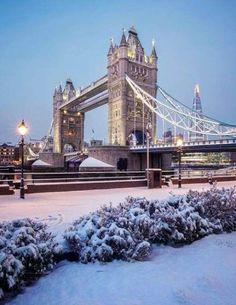 Travel London Winter United Kingdom New Ideas City Of London, London Bridge, London Winter, London Snow, London Fotografie, Travel Around The World, Around The Worlds, Winter Scenery, Things To Do In London
