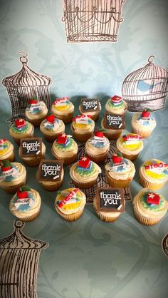 Teachers Cupcakes for last day of the term