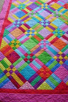 "motleycraft-o-rama: ""By Jessica's Quilting Studio on Flickr. """