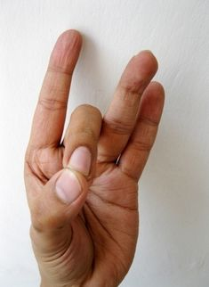 Akash Mudra - for heart diseases, vertigo and joint aches.