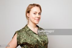 Stock Photo : Young woman smiling
