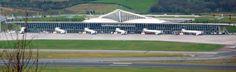 """Sondika International Airport"". # Bilbao, Espanha."
