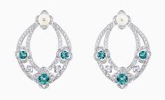 Hoops are back - VO+ Jewels & Luxury Magazine Fancy Earrings, Diamond Earrings, Hoop Earrings, Louis Vuitton Earrings, Hourglass Outfits, Jewelery, Jewelry Necklaces, Lotus Jewelry, Jewellery Sketches