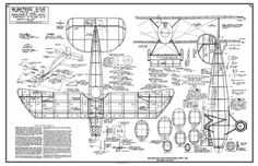 The Albatros D-5A is one of the model airplane plans available for download and printing.