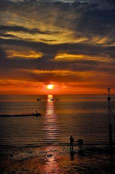 Hunstanton Sunset, Norfolk, England