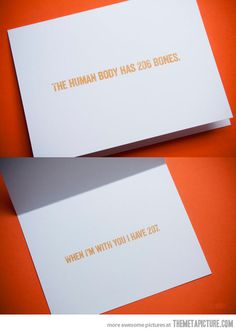 To my wife...  I feel like this is the kind of card a Hasher would send...