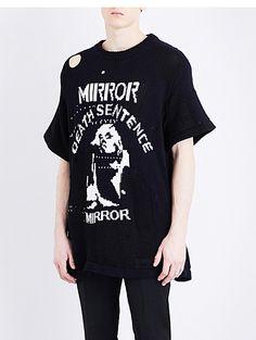 5af08217ecbf OFF-WHITE C O VIRGIL ABLOH Death Sentence cotton-blend jumper